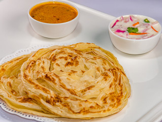 Malabar parotta – A layered flatbread
