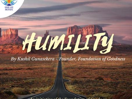 Humility (April 2021)