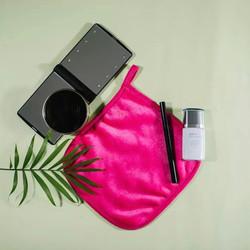 Pink Makeup Remover Cloth