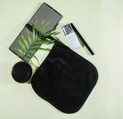 Black Makeup Remover Cloth