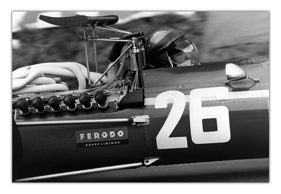 Jacky Ickx - First GP Victory - Rouen 1968