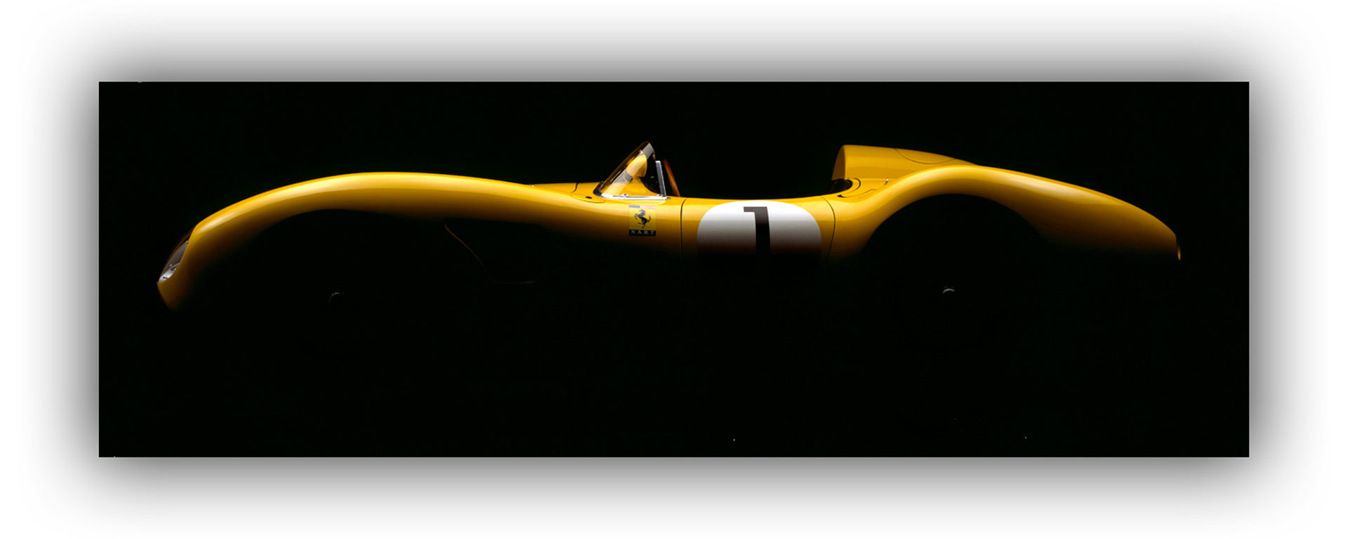Chiaroscuro - Ferrari 500 TRC (Dennis GRAY)