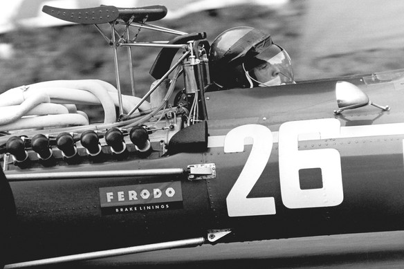 Jacky Ickx - First GP Victory - Rouen 19