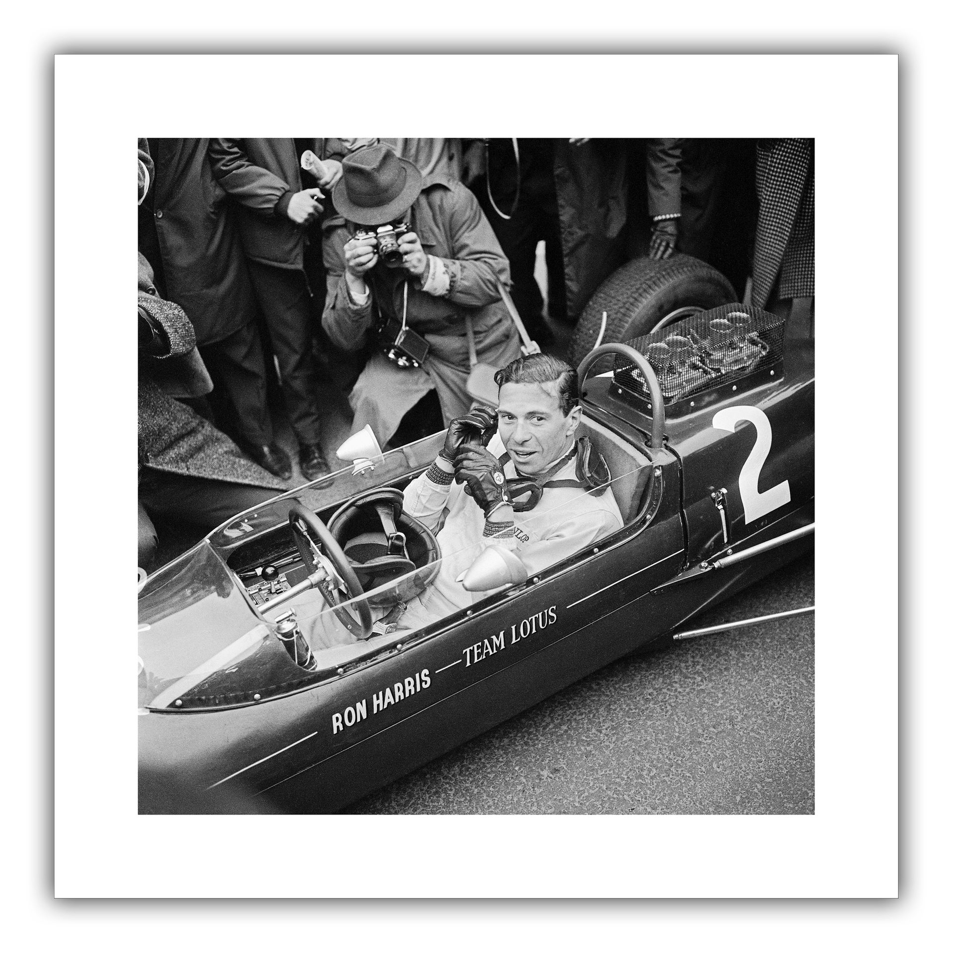 Jim Clark - Victory at Pau 1964