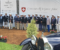 Exhibition at Concours d'Elégance Suisse (Coppet – Switzerland 2016)