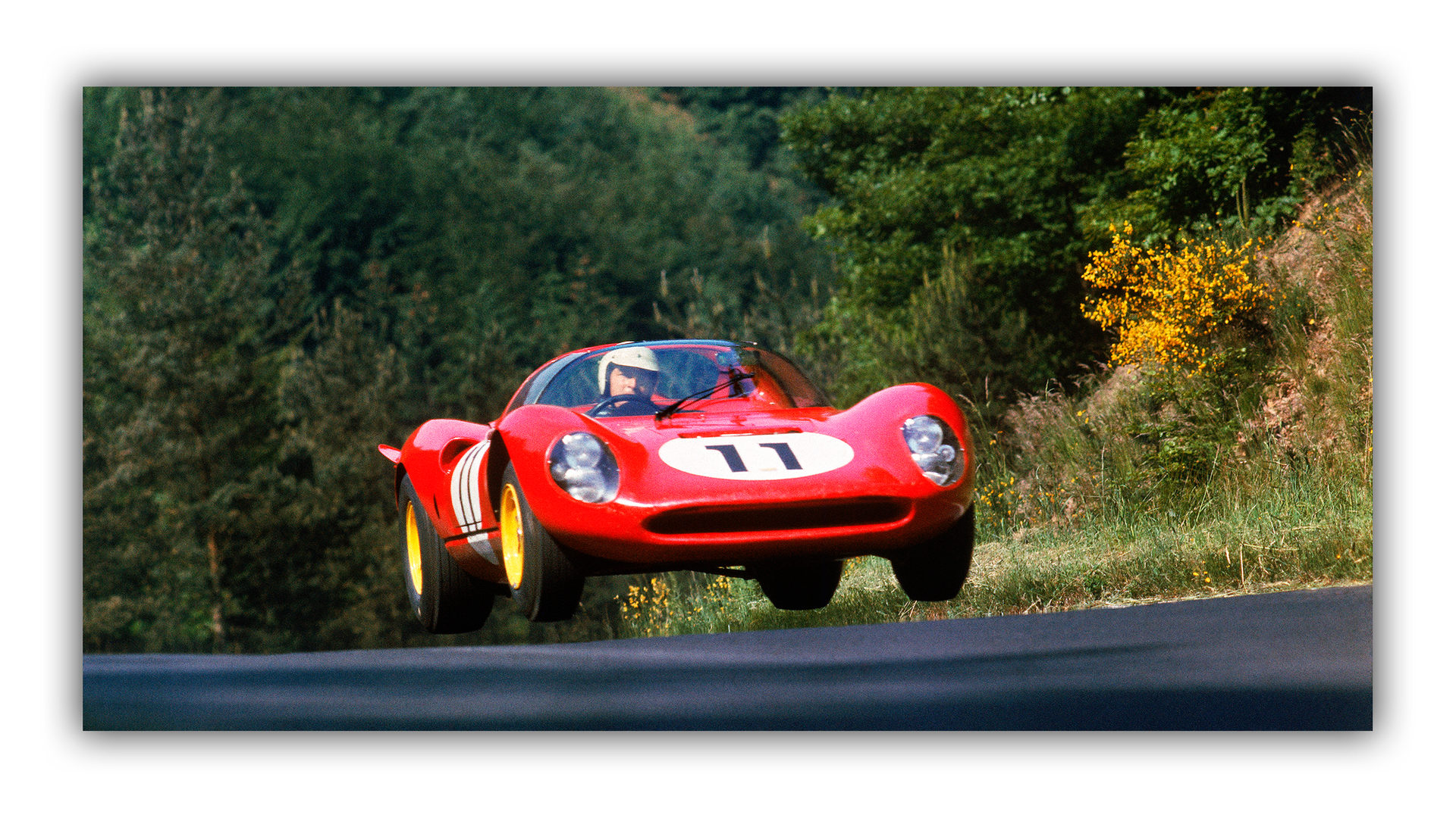 Flying Dino - Nürburgring 1966