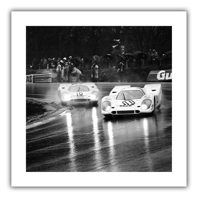 Swinging in the Rain - Brands Hatch 1970