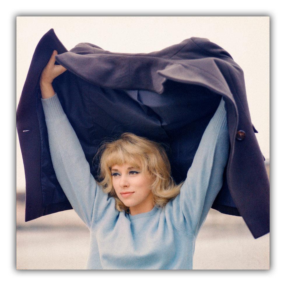 Mireille Darc - 'L'été en hiver' filmset 1963