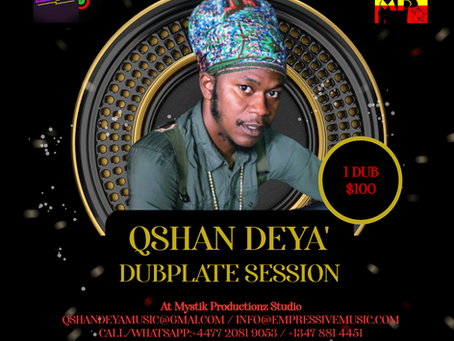 Qshan Deya' Dub Session - November Special