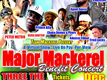 Major Mackerel Benefit Show 2020