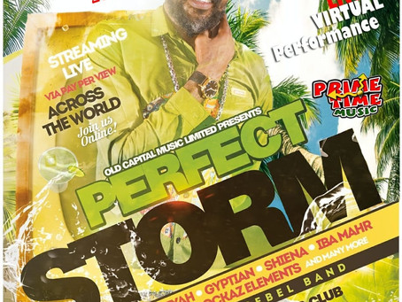 Lutan Fyah Earthstrong Celebration 'The Perfect Storm'