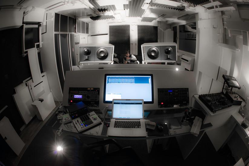 """this is the future"" Studio in Hamburg"