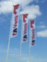 Vlaggen hoogformaat Vlaggenplaza