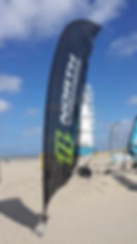 Beachflag Strandvlag Vlaggenplaza