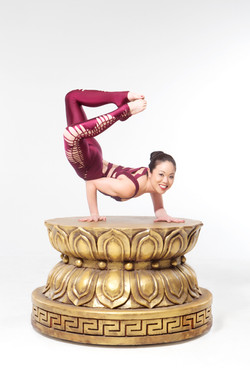 Asian Contortionist