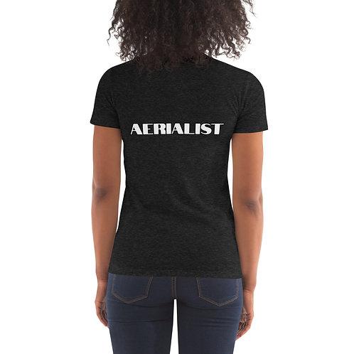 Aerial Fitness Logo Women's Crew Neck T-shirt