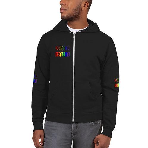 Aerial Artist Rainbow Blocks Hoodie sweater