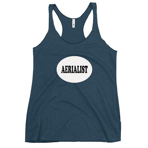 Aerialist Circle Women's Racerback Tank