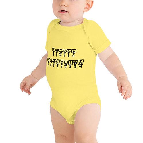 Future Aerialist Logo Baby One Piece