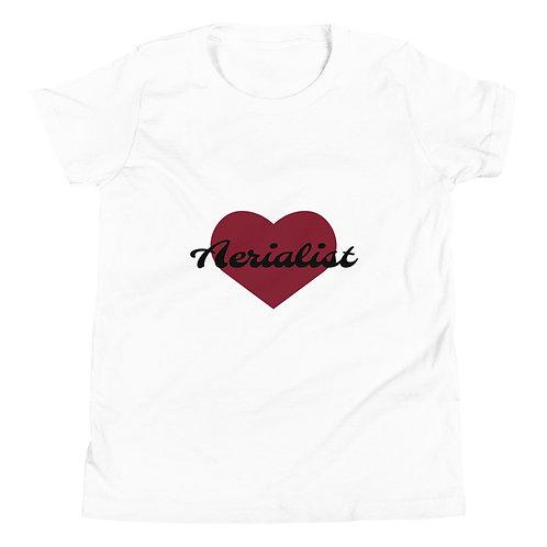 AERIALIST HEART Youth Short Sleeve T-Shirt