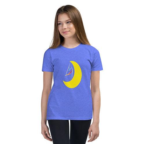 Aerialist Moon Youth Short Sleeve T-Shirt