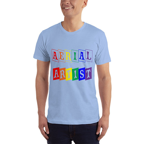 Aerialist Rainbow Blocks Unisex T-Shirt