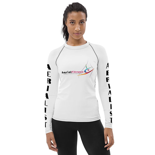Aerial Fitness Logo Women's Training Top
