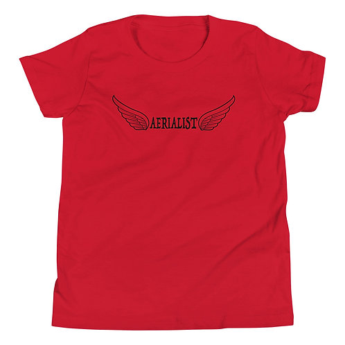 Aerialist Wings Youth Short Sleeve T-Shirt