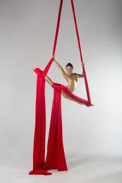 Kristi Aerial Silk Artist