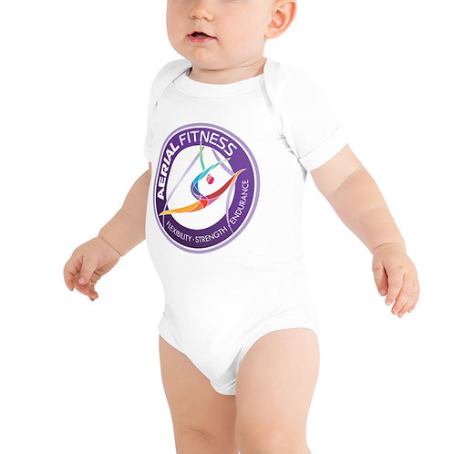 Aerial Fitness Logo Baby One Piece