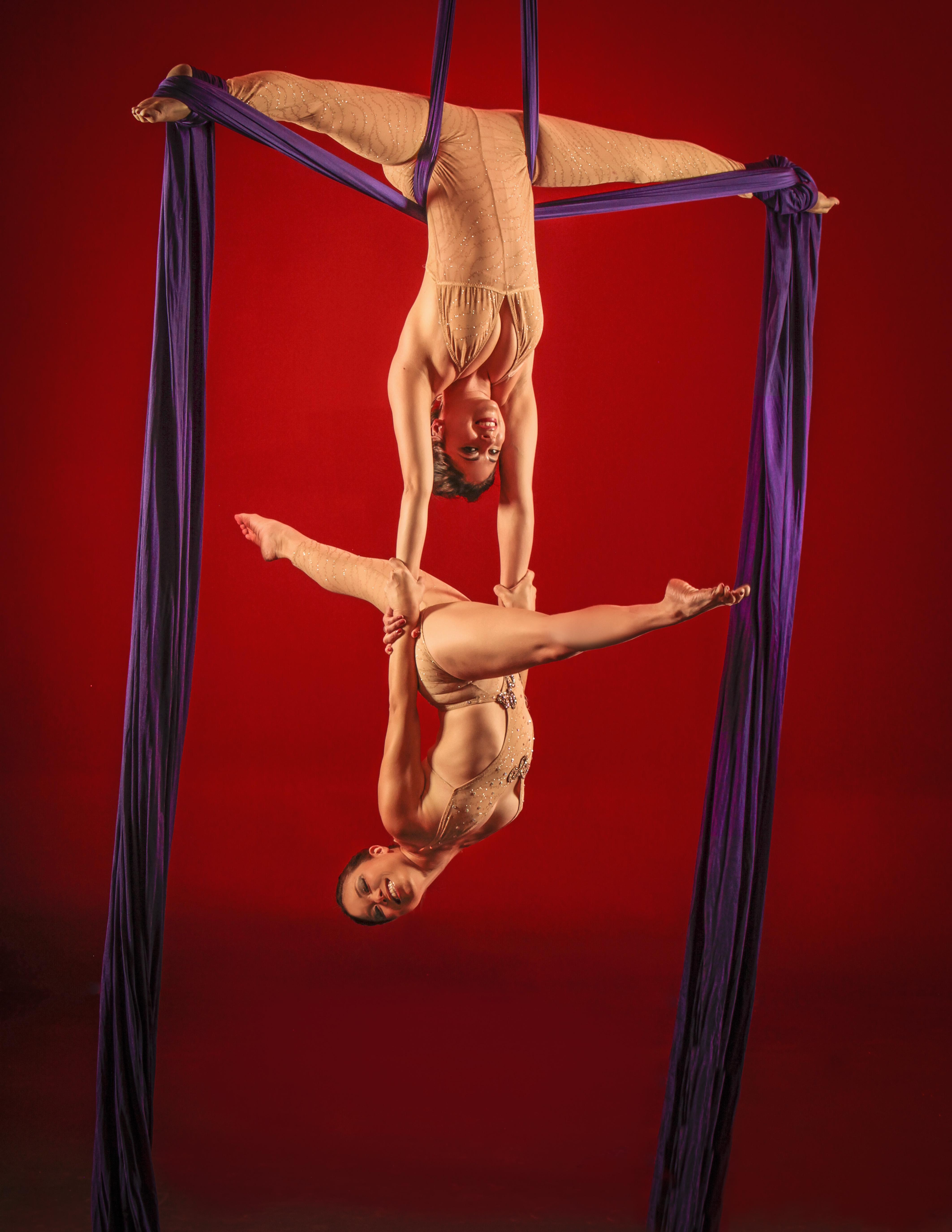 Aerial Silk Duet