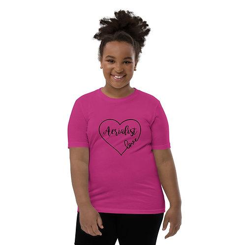 Aerialist Love Heart Youth Short Sleeve T-Shirt