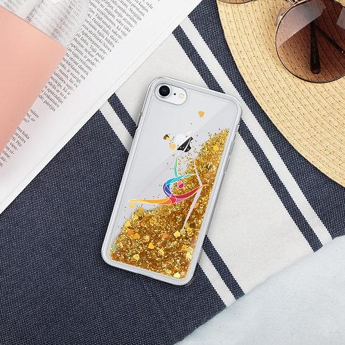 Aerialist Liquid Glitter Phone Case