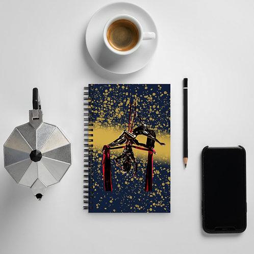 Duo Silks Spiral notebook