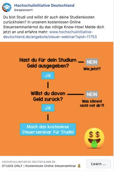 HS-Initiative Ad