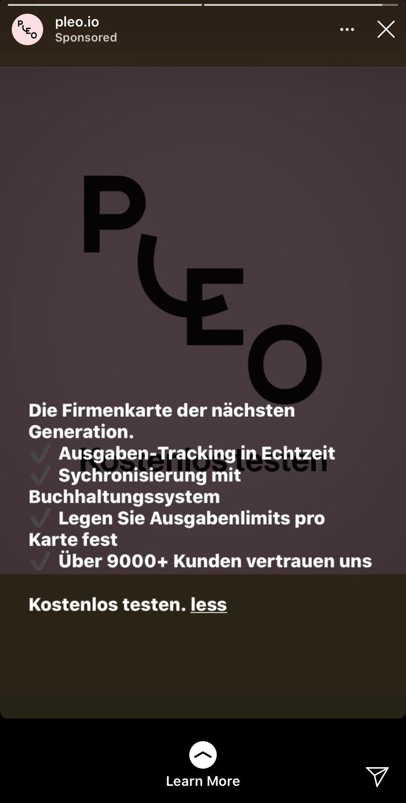 Pleo Ad
