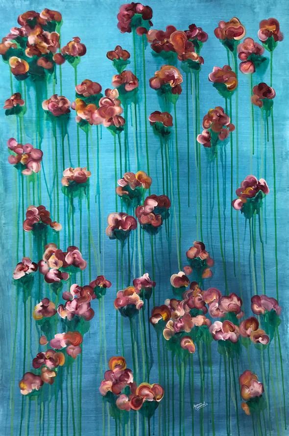 Garden Rose | Acrylic