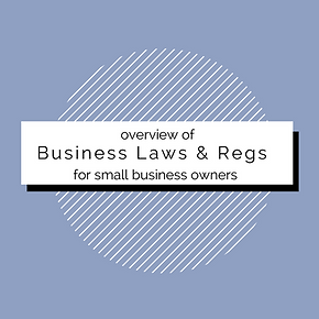 Overview Business Laws and Regulations