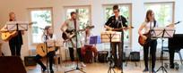 Jugendliche Gitarrengruppe