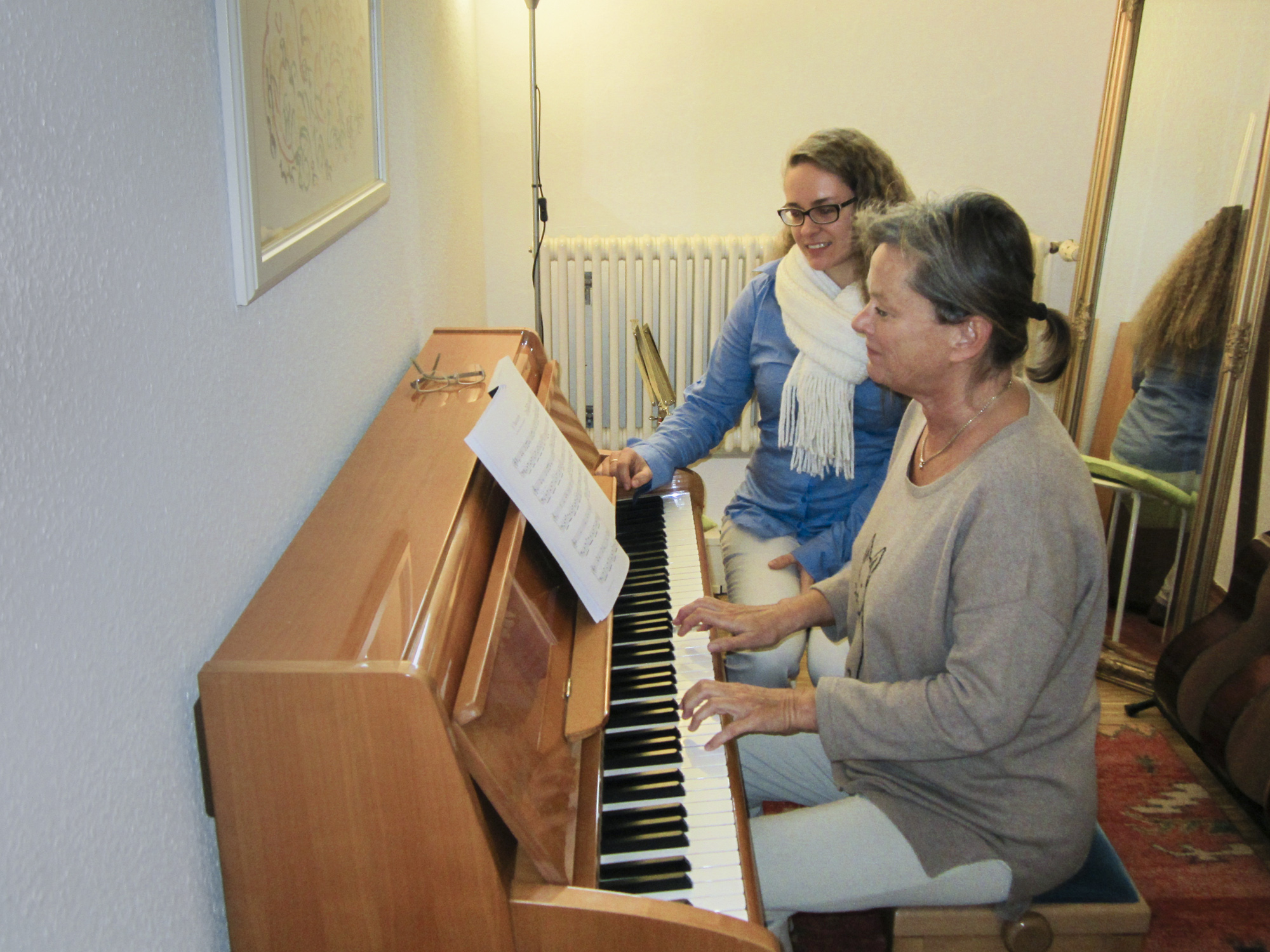 piano lessons, adult