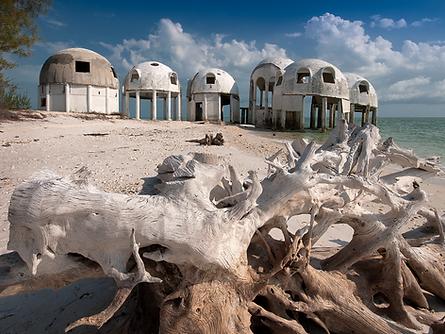 Iconic Dome Houses near Marco Island Florida