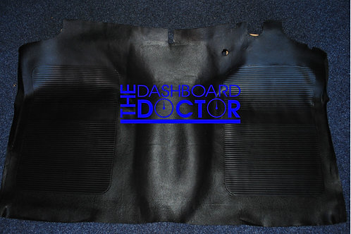 Moulded reproduction rubber Floor Mat - Holden HK HT HG - Front only