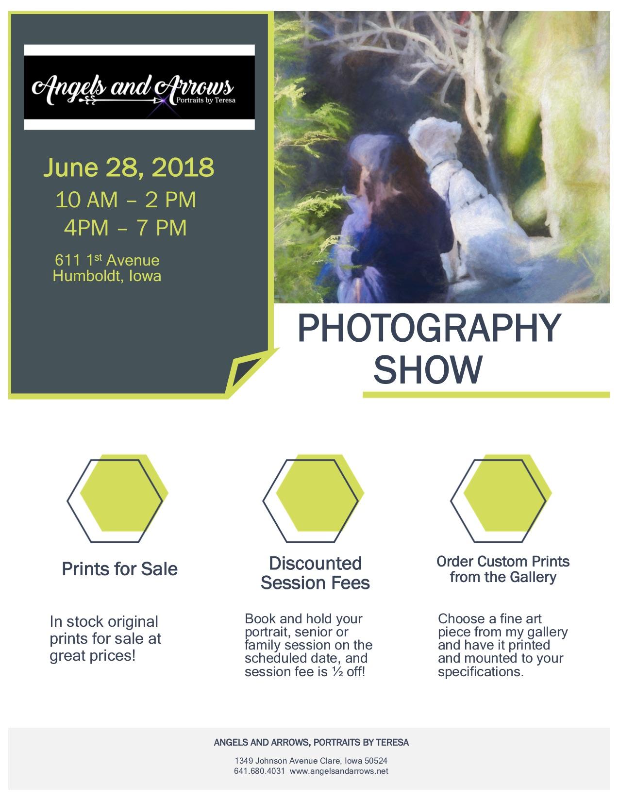 Photography Show/Sale in Humboldt | Photographer | Ottumwa | Angels