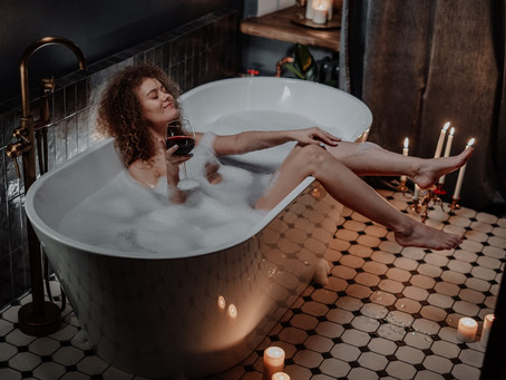 Embrace Boredom In The Bath