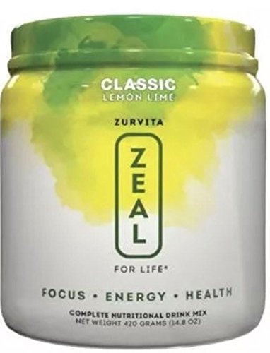 Zeal For Life Lemon Lime by Zurvita -Wellness Formula