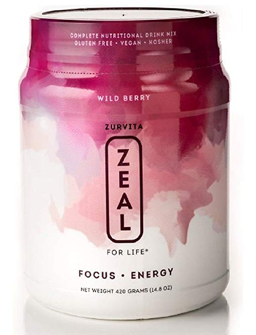Zeal for Life -Wild Berry Wellness Formula  30 Servings