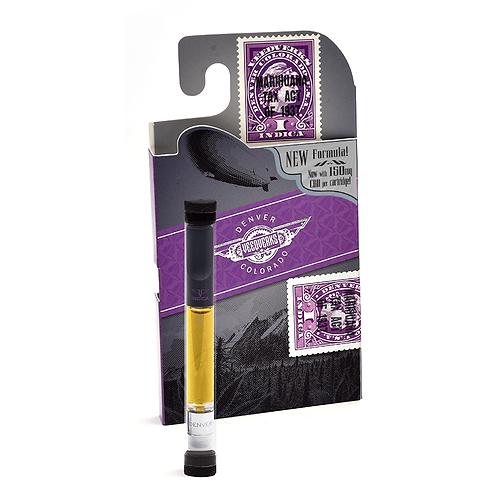 Indica 150 mg CBD Vape Pen Cartridge