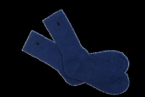 Blue Hemp Socks