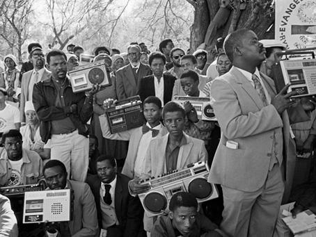 """STOLEN MOMENTS: NAMIBIAN MUSIC HISTORY UNTOLD"" (1950S-1980S)."