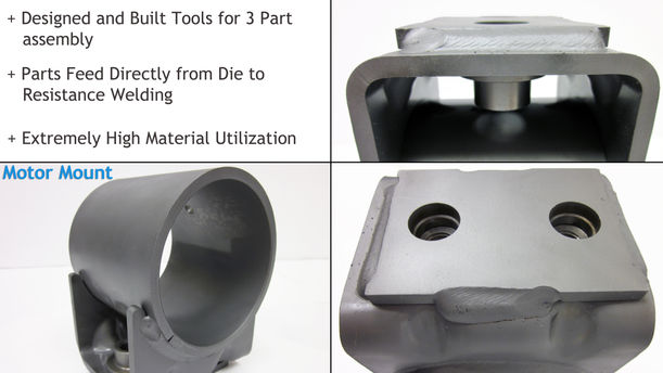 Die Design,Tooling, and Production